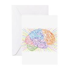 Phrenology01nrC Greeting Cards