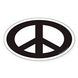 Peace stickers Bumper Stickers
