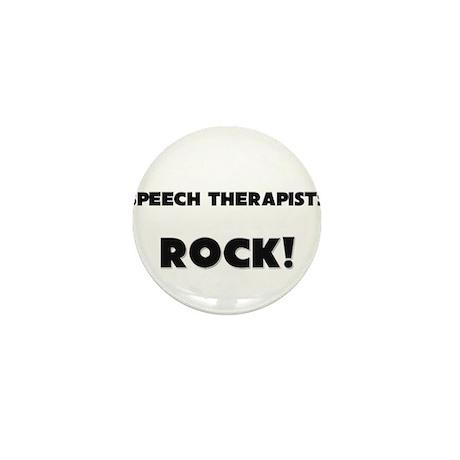 Speech Therapists ROCK Mini Button (10 pack)