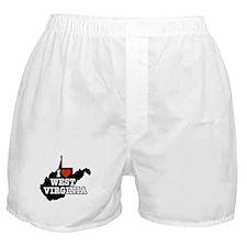 I Love West Virginia Boxer Shorts