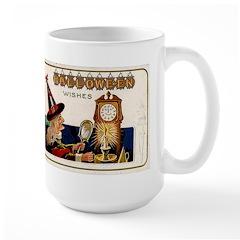 Halloween Witch & Clock Mug