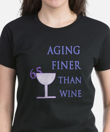 Witty 65th Birthday Women's Dark T-Shirt