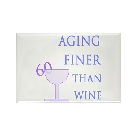 Witty 60th Birthday Rectangle Magnet