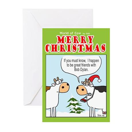 Bob Dylan's Xmas gift Greeting Cards (Pk of 10)