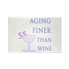 Witty 55th Birthday Rectangle Magnet