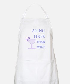 Witty 55th Birthday BBQ Apron