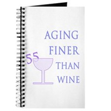 Witty 55th Birthday Journal