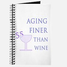 Witty 55th Birthday Journal