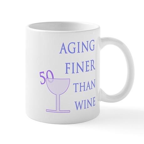 Witty 50th Birthday Mug