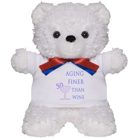 Witty 50th Birthday Teddy Bear