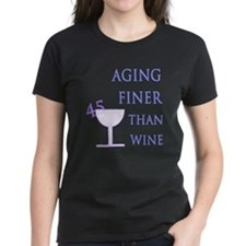 Witty 45th Birthday Tee