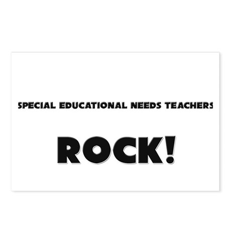 Special Educational Needs Teachers ROCK Postcards