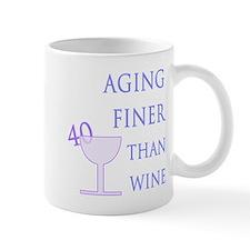 Witty 40th Birthday Mug