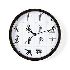 Unique Family dollar Wall Clock