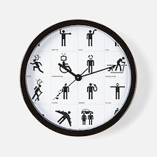 Unique Car kill Wall Clock