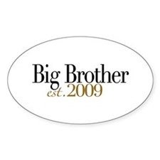 Big Brother 2009 Oval Decal