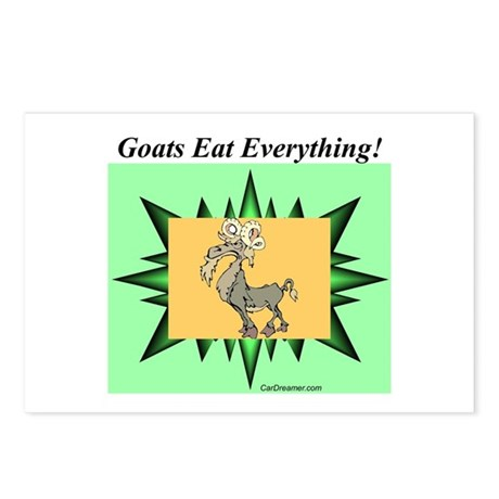 """Goats Eat Everything"" Postcards (Packag"