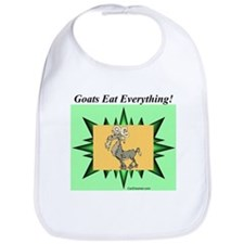 """Goats Eat Everything"" Bib"
