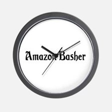 Amazon Basher Wall Clock