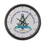 Taking Good Men Masonic Large Wall Clock