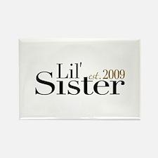 Little Sister 2009 Rectangle Magnet