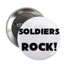 """Soldiers ROCK 2.25"""" Button"""