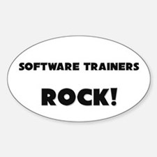 Software Trainers ROCK Oval Decal