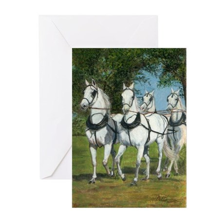 Greeting Cards (Pk of 20) carriage horses