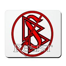 Resist Scientology Mousepad
