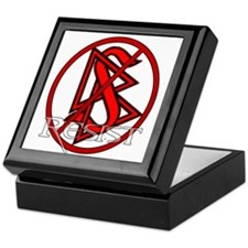 Resist Scientology Keepsake Box