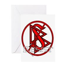 Resist Scientology Greeting Card