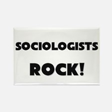 Sociologists ROCK Rectangle Magnet
