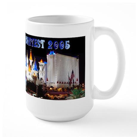 Las Vegas Excalibur Customized Large Mug