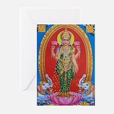 Lakshmi Ji Greeting Cards (Pk of 20)