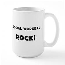 Social Workers ROCK Mug