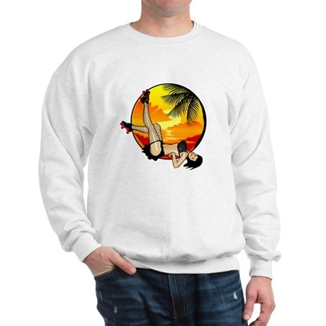 Pinup Roller Girl Sweatshirt