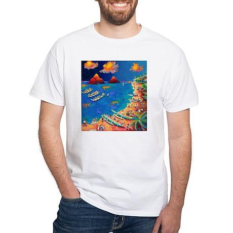Lanikai Evening White T-Shirt