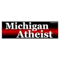 Michigan Atheist bumper sticker