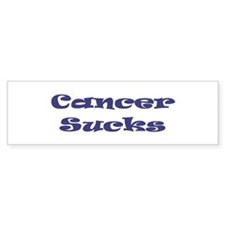 Cancer Sucks Bumper Bumper Sticker