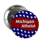 Michigan Atheist patriotic button