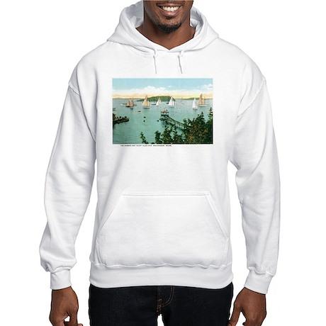 Bar Harbor Maine ME Hooded Sweatshirt