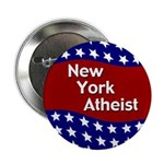 New York Atheist patriotic button