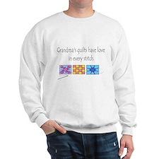 Grandma's quilts Sweater
