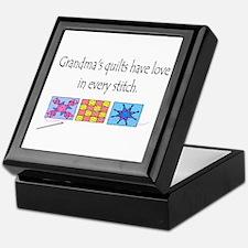 Grandma's quilts Keepsake Box