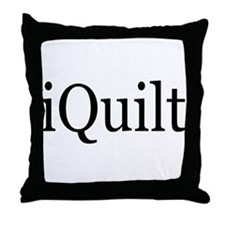 iQuilt Throw Pillow