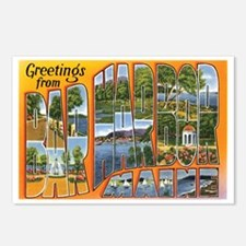Bar Harbor Maine ME Postcards (Package of 8)