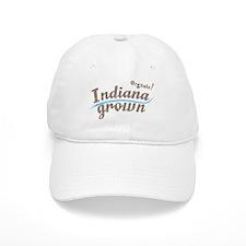 Organic! Indiana Grown! Baseball Cap