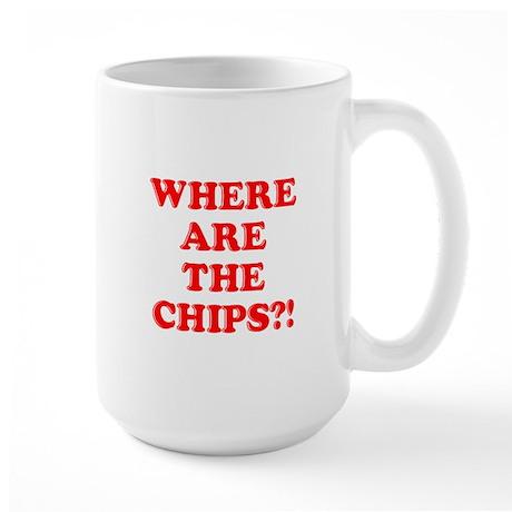 Chips! Large Mug
