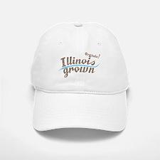 Organic! Illinois Grown! Baseball Baseball Cap