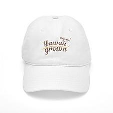 Organic! Hawaii Grown! Baseball Baseball Cap